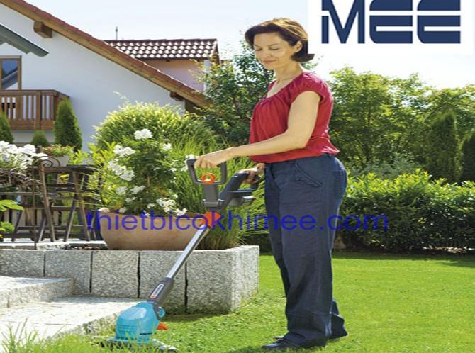 Máy cắt cỏ chạy pin tự sạc Gardena 9823