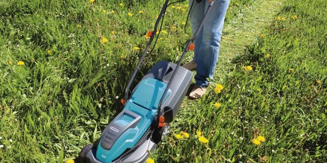 Máy cắt cỏ đẩy tay dùng điện Gardena 32E