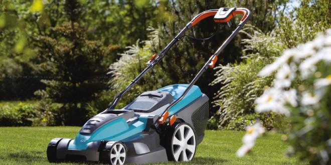 Máy cắt cỏ đẩy tay động cơ điện Gardena 42E