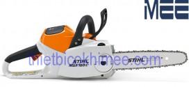 Máy cưa xích Stihl MSA 160 C-BQ cordless chainsaw